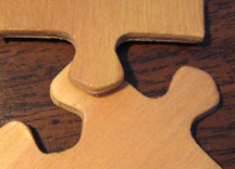 wood jigsaw puzzle, wooden jigsaw puzzle