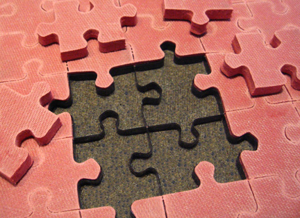 jigsaw puzzle cutting die